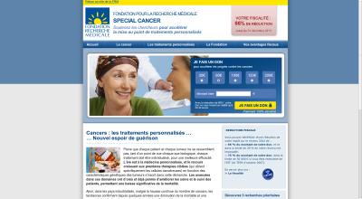 site internet FRM : cancer